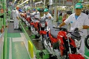 Produção e venda de motos crescem em agosto; veja dados por categoria