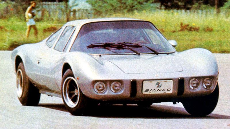 carros esportivos brasileiros bianco 1600 prata de frente