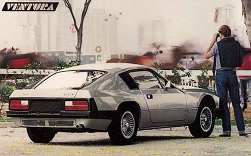 carros esportivos brasileiros lautomobile ventura prata traseira