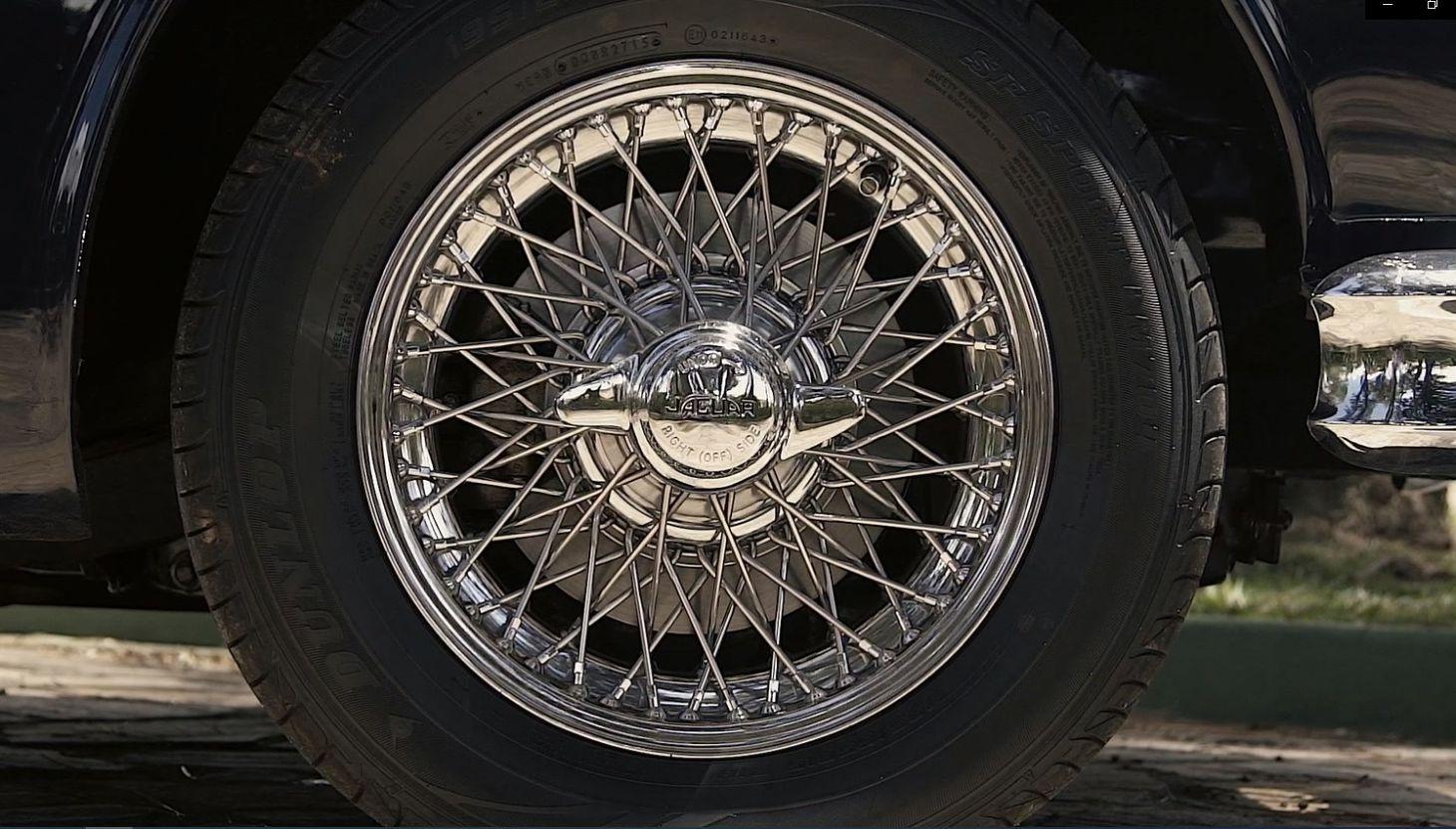 jaguar mk2 roda