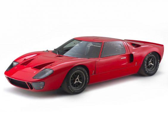 ford gt 40 vermelho lateral