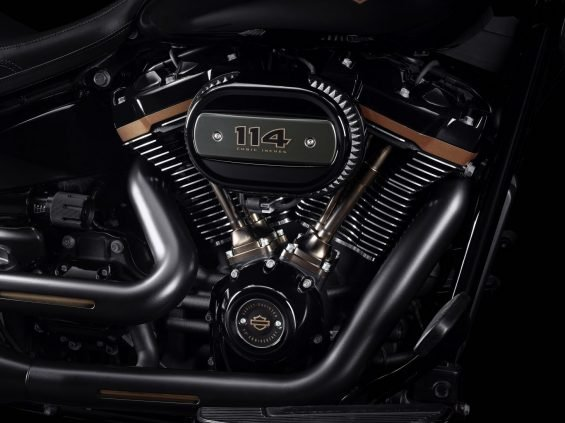Motor da harley-davidson fat boy 30 anos