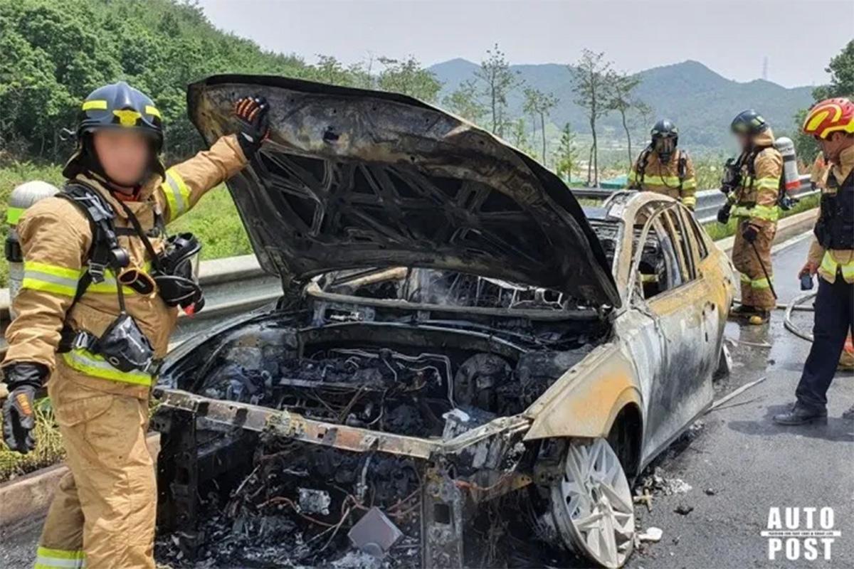 hyundai azera pega fogo coreia