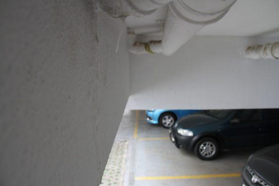vazamento de garagem