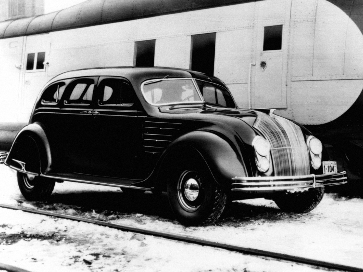 chrysler airflow sedan 1934 dianteira grade