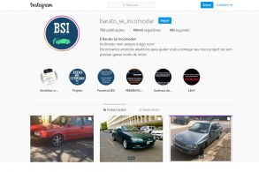 Barato Se Incomodar, perfil no Instagram