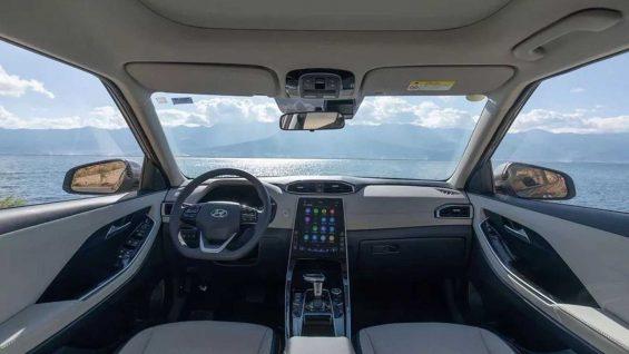 interior do hyundai creta 2021