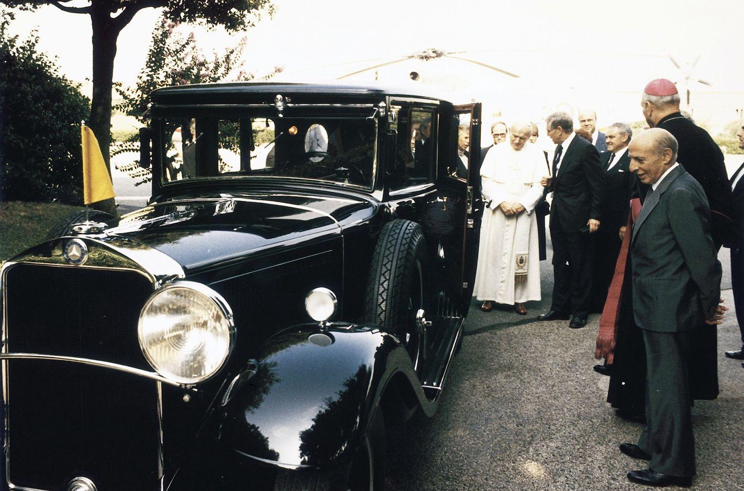 limusine mercedes papa 1930