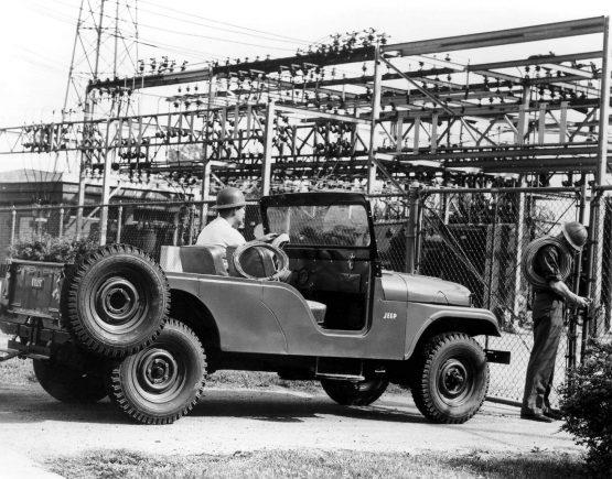jeep cj6 1959 lateral