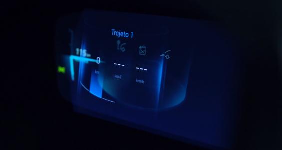 imagem do painel digital 3d do peugeot 208 2021