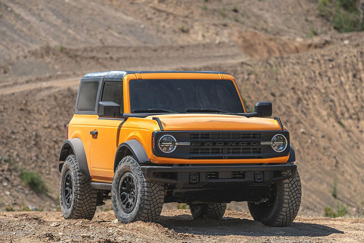 ford bronco first edition amarelo duas portas baby frente