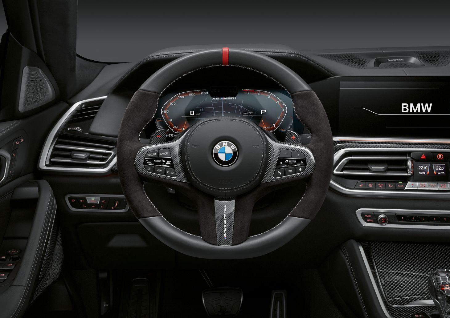volante do bmw x6 m performance
