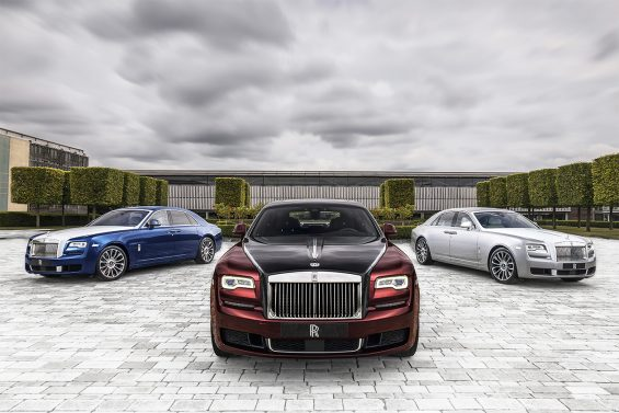 linha rolls royce silver ghost zenith collection 2019