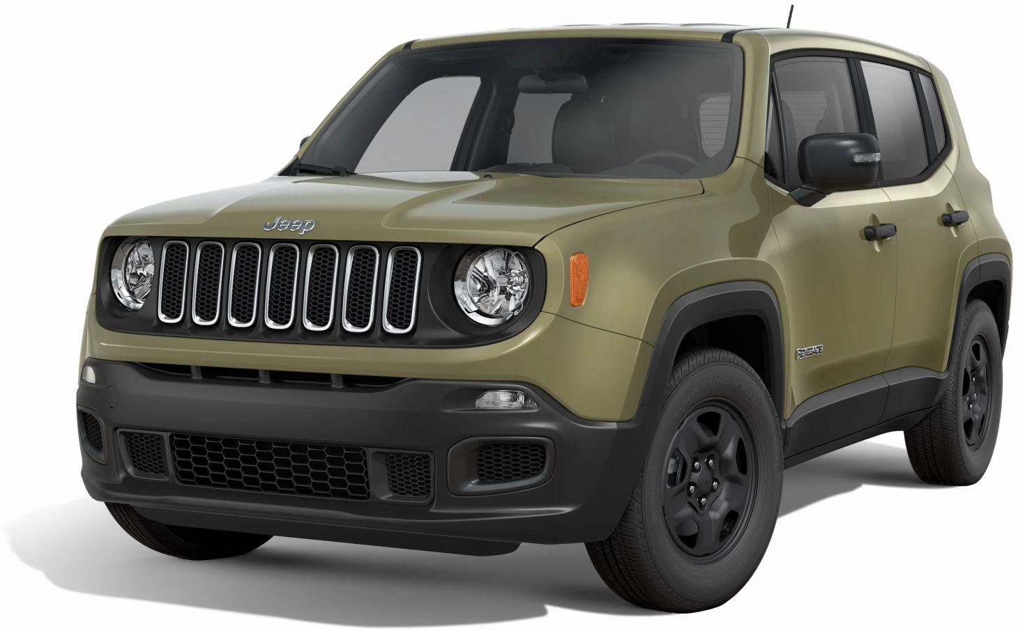 jeep renegade verde