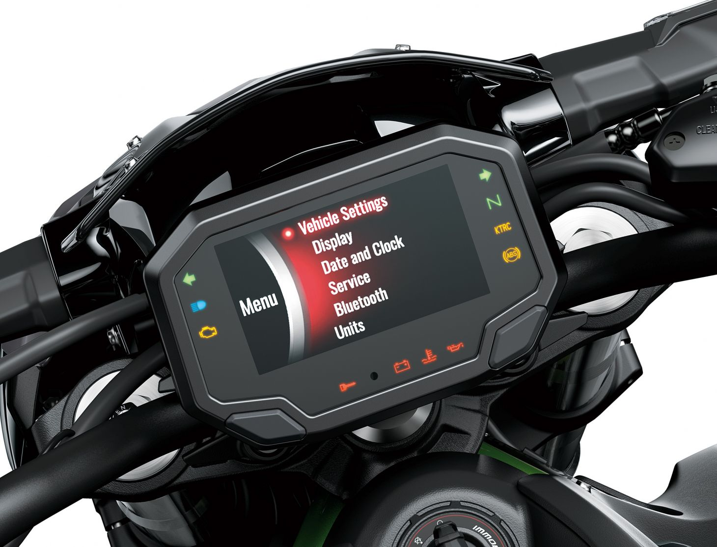 Kawasaki Z 900 2021 painel digital