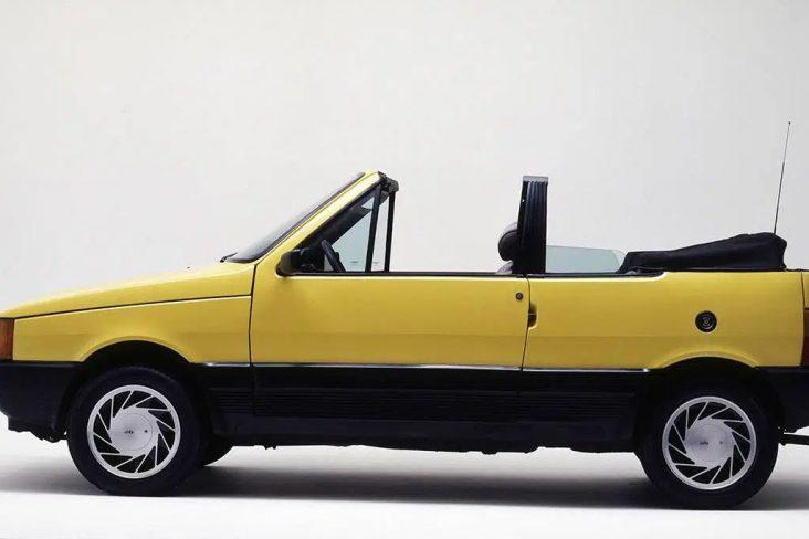 fiat uno cabrio amarelo sultan