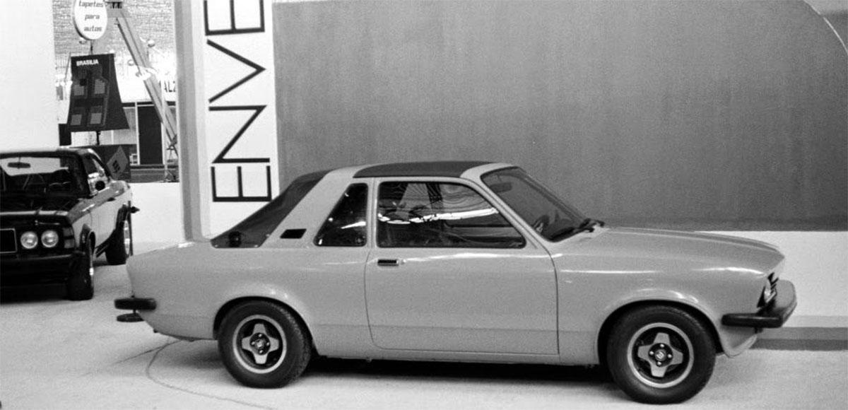 carros dos anos 80: chevrolet chevette targa envemo