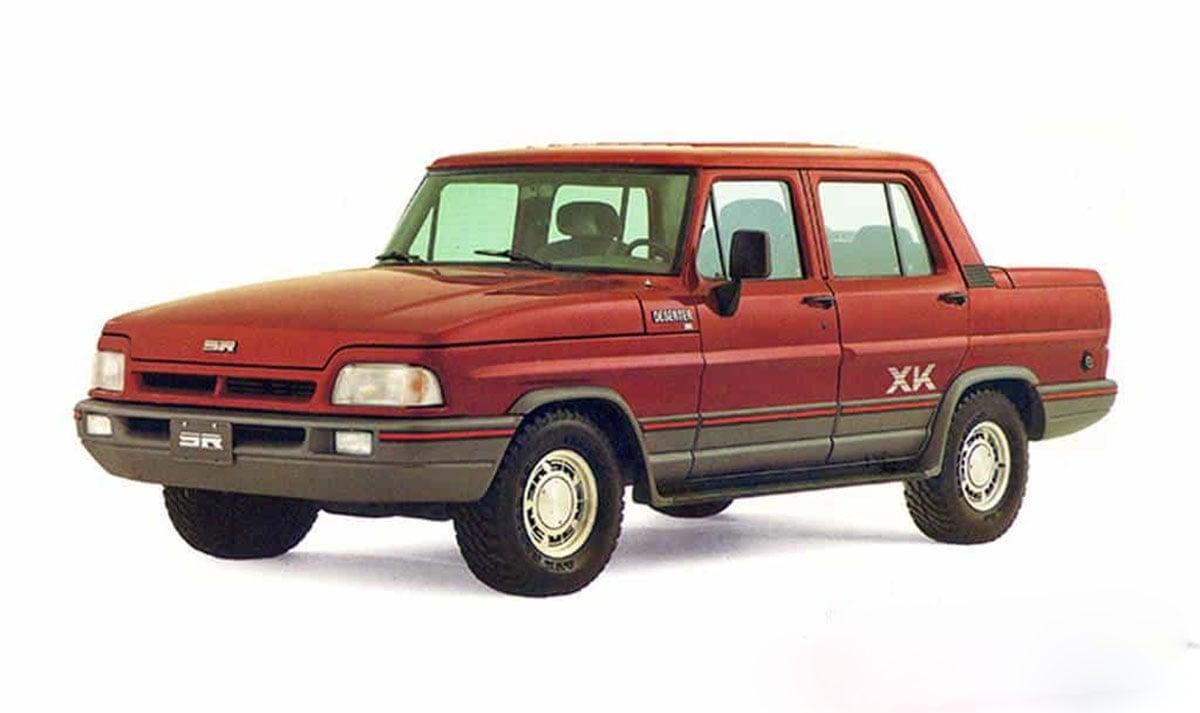 carros dos anos 80: picape cabine dupla ford f 1000 souza ramos deserter xk