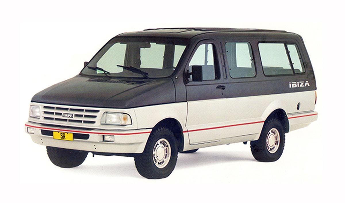 carros dos anos 80: souza ramos ibiza feita com base em ford f 1000