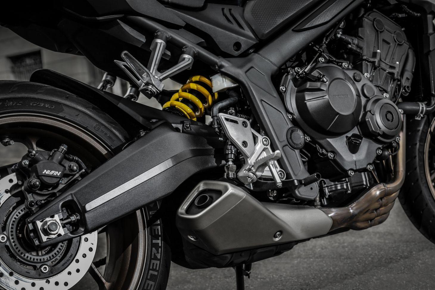 Motor da Honda CB 650R
