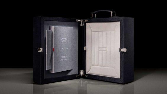 black bowmore aston martin whisky presentation case