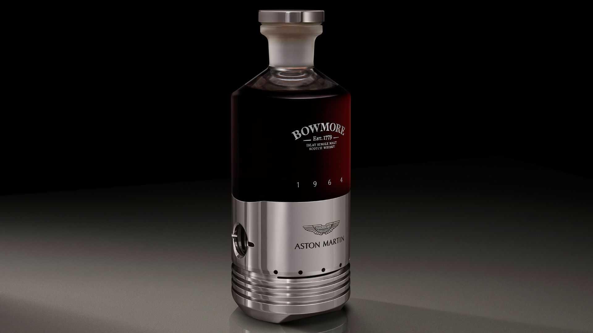 garrafa bowmore aston martin db5