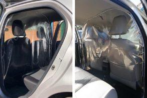 Toyota desenvolve 'escudo de perdigotos' para proteger motoristas
