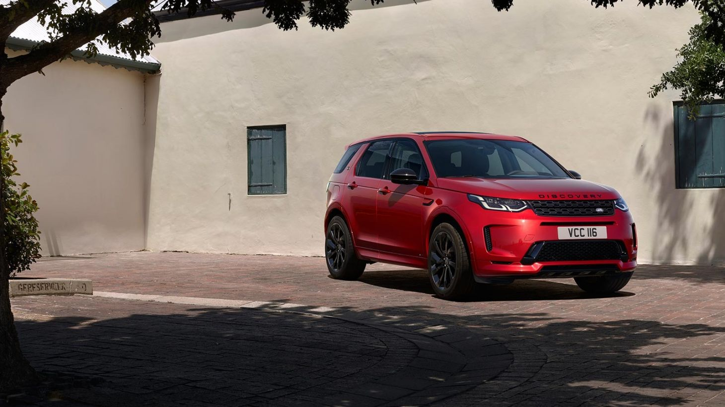 land rover discovery sport frente