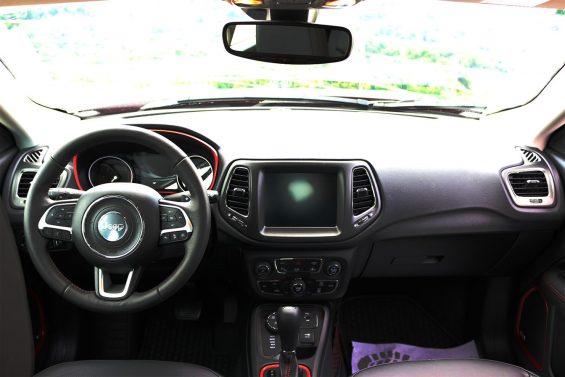 jeep compass trailhawk diesel 4x4 interior