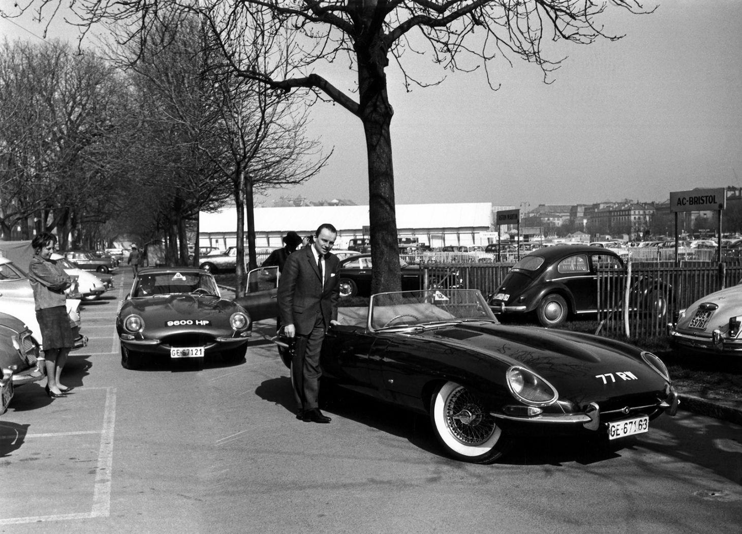 jaguar e type 1961 genebra 9600hp jacquesdeclippel