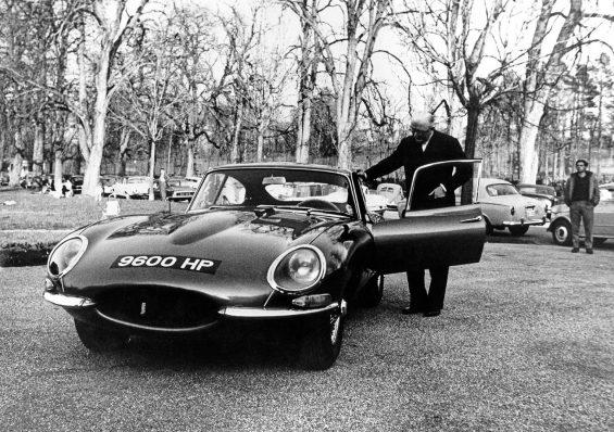 jaguar e type 1961 geneva 9600hp williamlyons
