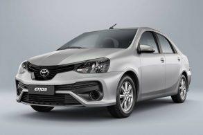 Toyota Etios 'sobe no telhado' com fim do motor 1.3 e versão X