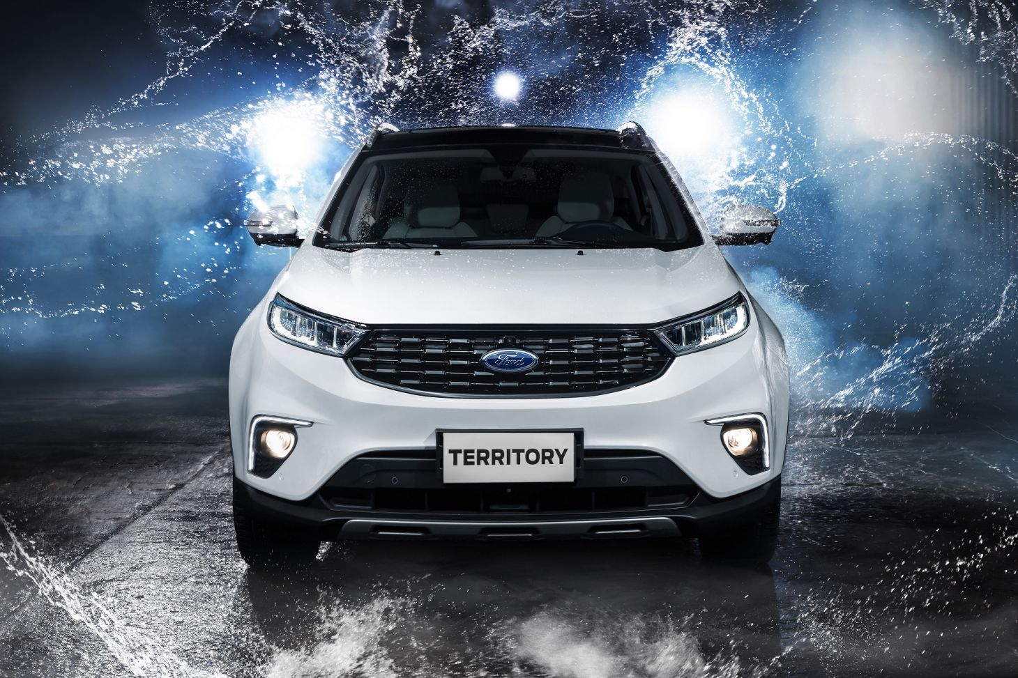ford territory titanium branco novo