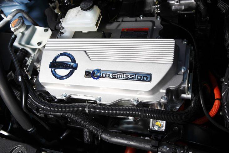 motor eletrico nissan leaf