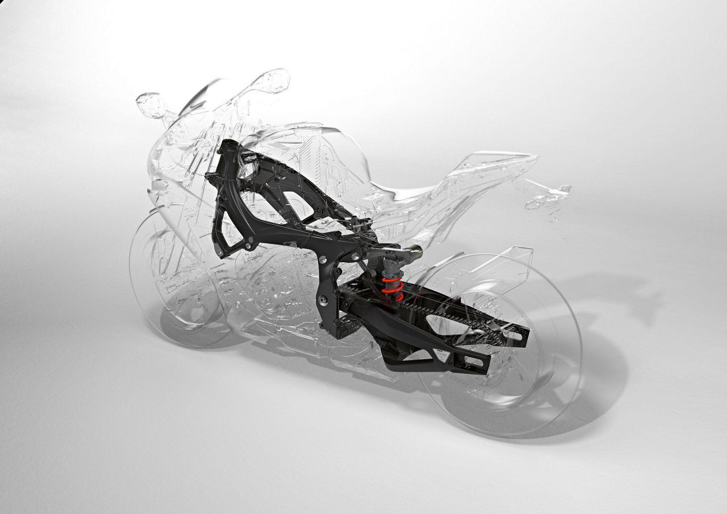 Quadro da BMW S1000 RR 2020