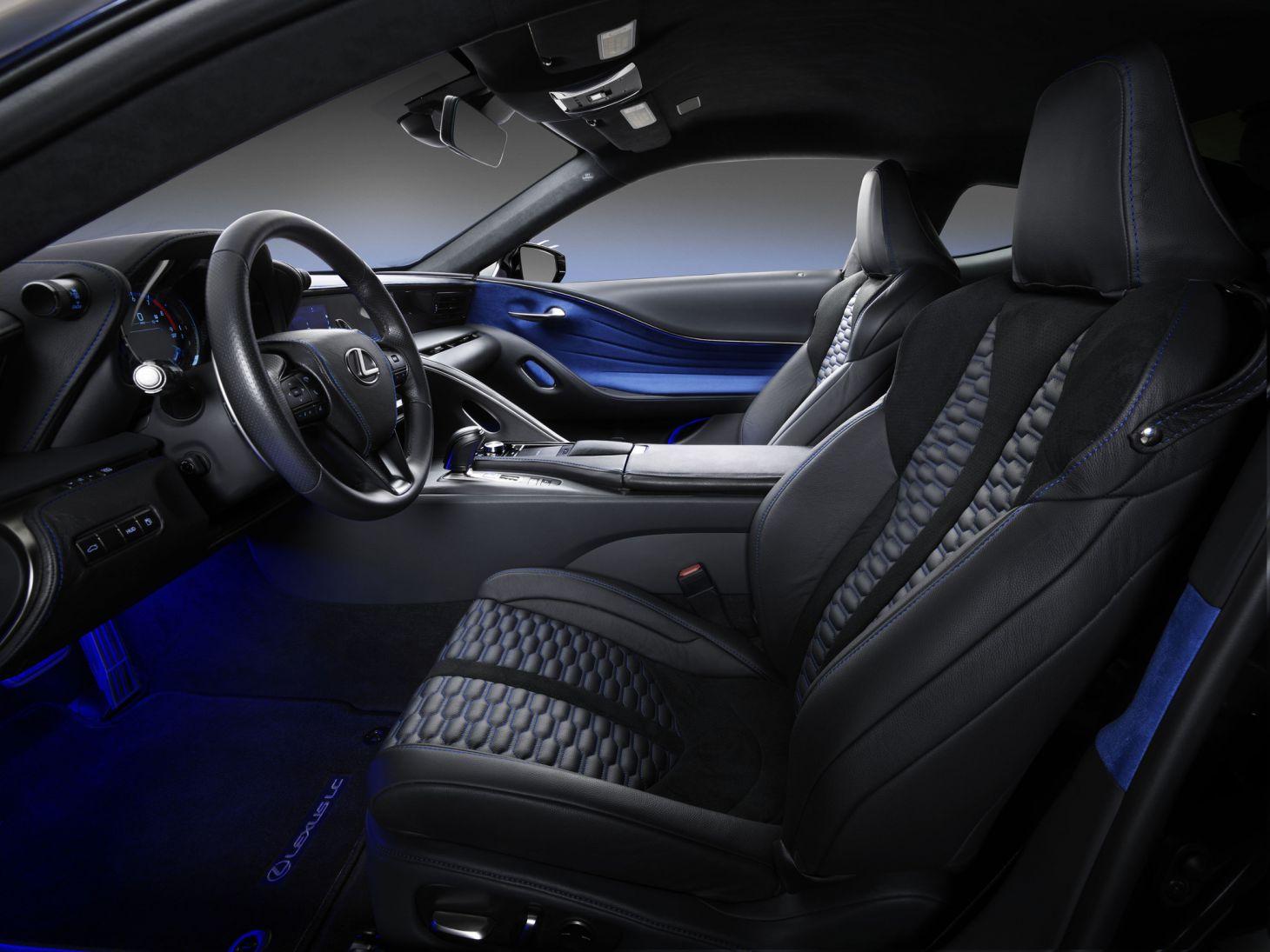 lexus_black_panther_inspired_lc_500_interior Carro do Pantera Negra: conheça o futurista Lexus LC 500