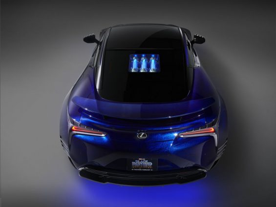 lexus_black_panther_inspired_lc_500_traseira-565x424 Carro do Pantera Negra: conheça o futurista Lexus LC 500