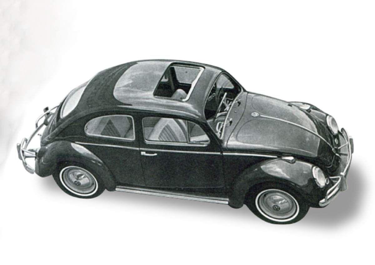 volkswagen fusca 1965 teto solar