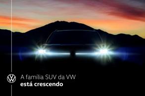 VW divulga 'teaser' do seu novo SUV anti-Compass, o Tarek