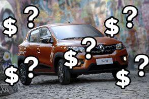 Renault Kwid era o mais barato do Brasil. Quem tomou seu lugar?