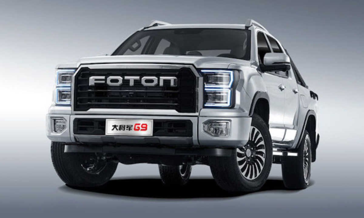 foton big general clone ford f 150 raptor