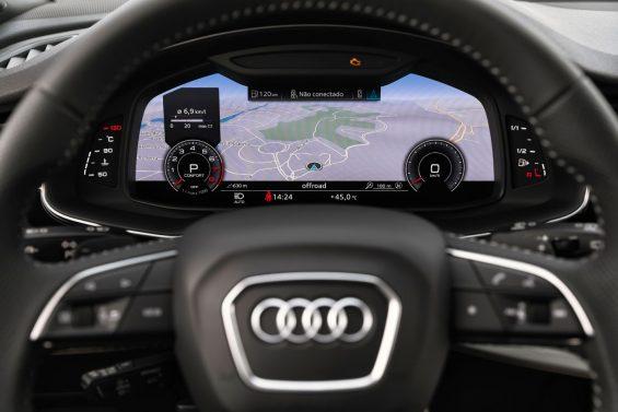 audi cockpit do q7 2021