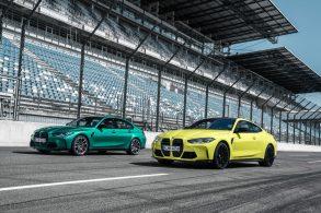 Novos BMW M3 e M4 oferecem transmissão manual e até 510 cv de potência