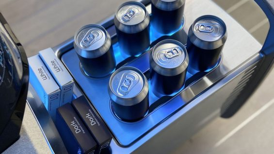 carros do futuro hyundai ionic frigobar