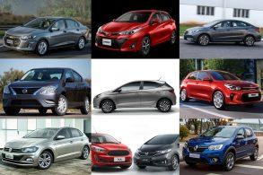 10 carros automáticos até R$ 90 mil com melhor conjunto motor/câmbio