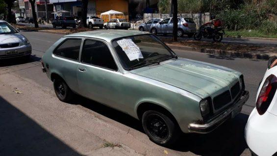 chevette hatch 1980 verde agua parado rua foto edson barbosa