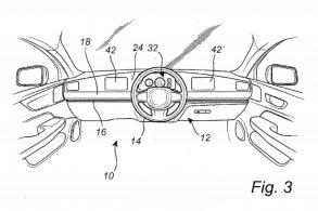 Volvo pode desenvolver volante que desliza pelo painel sobre trilho