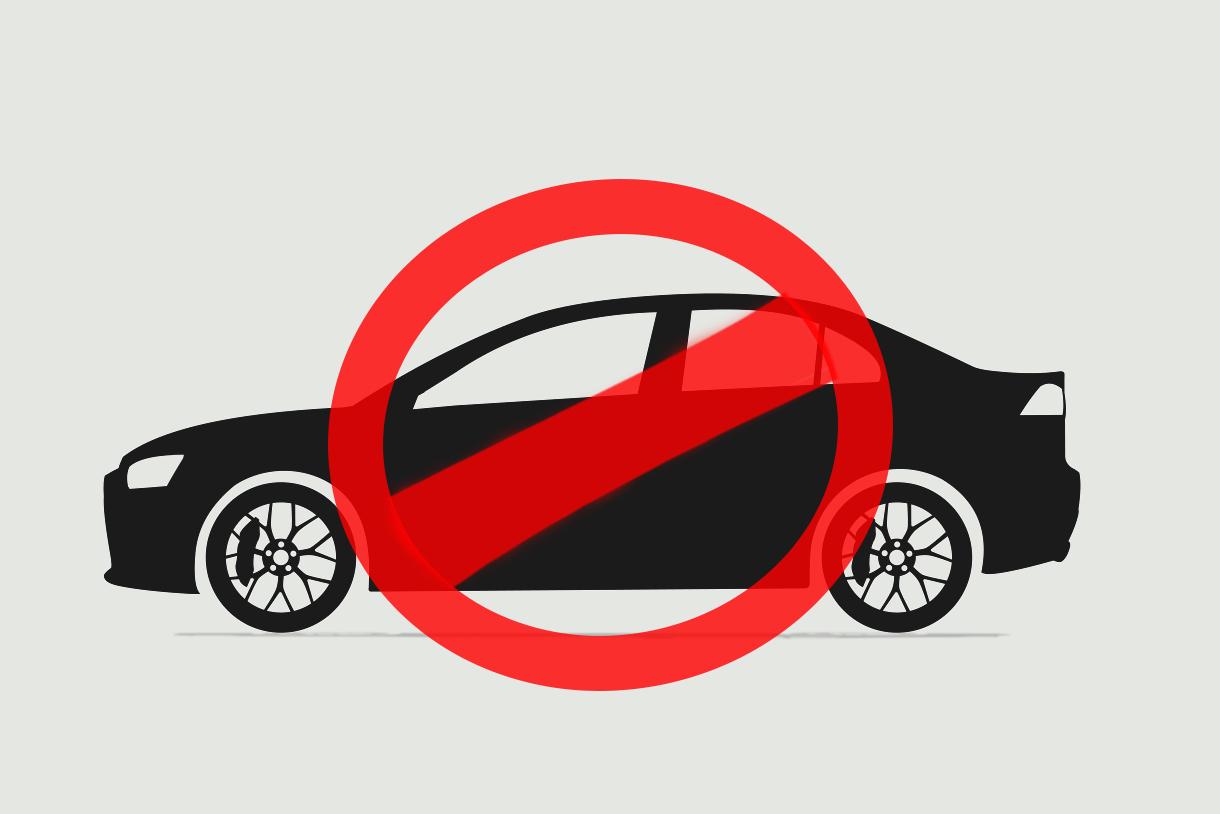 carro recusado rejeitado silhueta montagem carimbo shutterstock 605341853