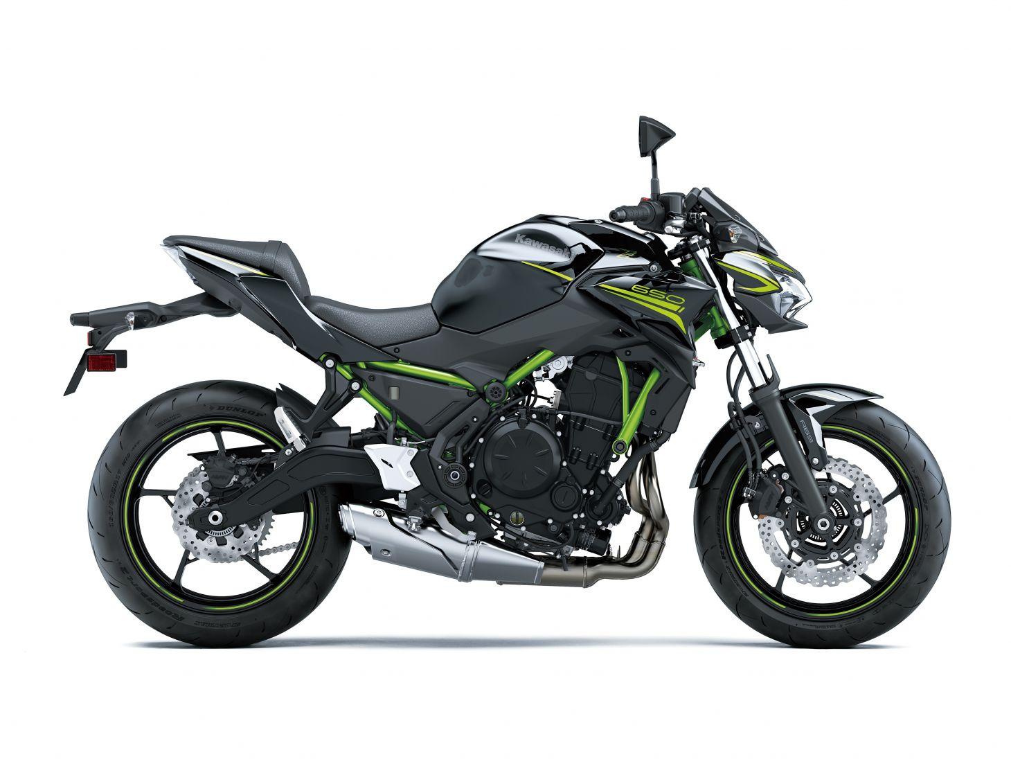 kawasaki 2021 z650 verde 2