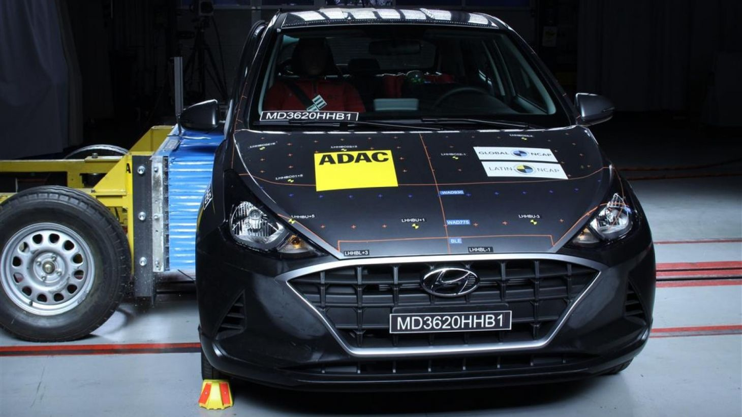 hyundai hb20 2020 crash test latin ncap